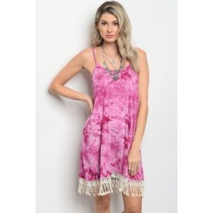 """Dresses & Skirts - 🌸ARRIVED🌸 """"Beautiful things"""" pink tie dye dress"""